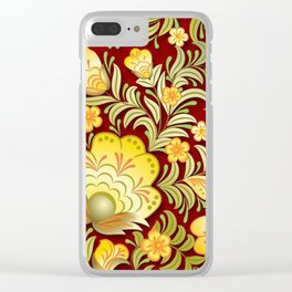 Art Flowers V2 Clear iPhone Case