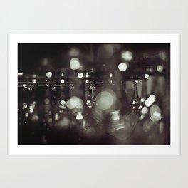 Wineglasses Art Print