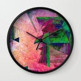 color pallette Wall Clock