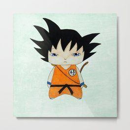 A Boy - Goku Metal Print