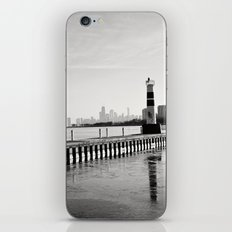 Chicago Skyline from Montrose Harbor iPhone & iPod Skin