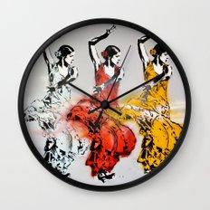 Las tres bailarinas Wall Clock