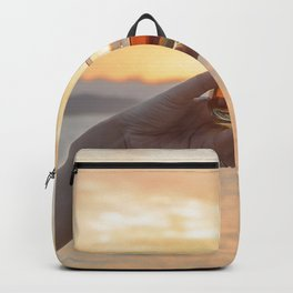 Romantic Evening Toast Backpack