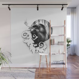 HUGINN Wall Mural