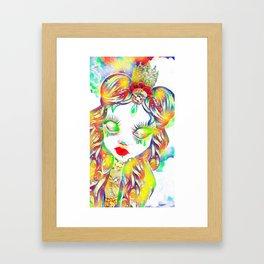 Rainbow Blight Framed Art Print