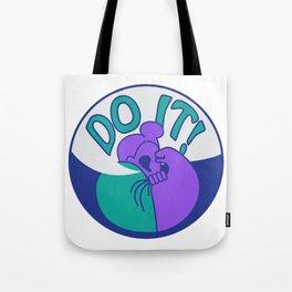 Do It! Purple Tote Bag