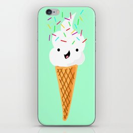 Happiness Is Sprinkles On Your Ice Cream iPhone Skin