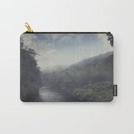Wilderness in Mist Carry-All Pouch