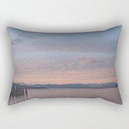 Starnbergersee at dawn Rectangular Pillow
