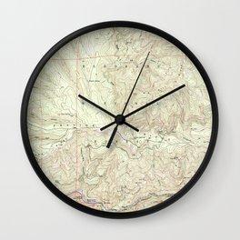 CA Riverton 101913 1950 24000 geo Wall Clock