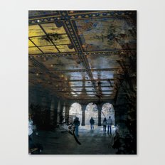 Light at the End Canvas Print