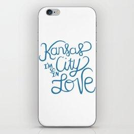 Kansas City I'm So In Love iPhone Skin