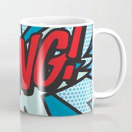 Comic Book Pop Art BANG! Coffee Mug