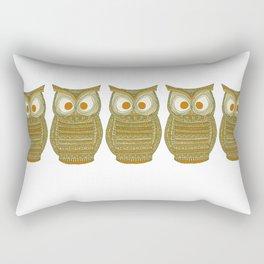 Dermot Owl Rectangular Pillow