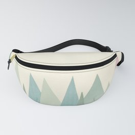 Snowy Mountains Fanny Pack
