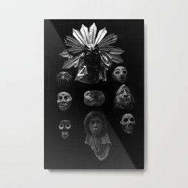 Emote Metal Print