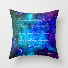 LOVE:  THE SONG OF SOLOMON Throw Pillow