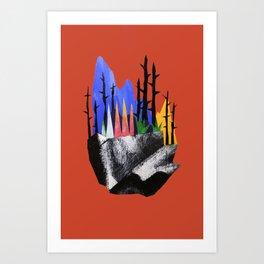 """""""Bouquet"""" Art Print"""