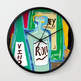 key Wall Clock