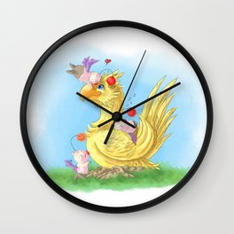 Cuddles Wall Clock