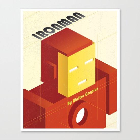 BAUHAUS SPIRIT - Ironman Canvas Print