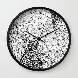 Black & White Form Wall Clock