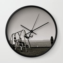 The Swing Set Wall Clock