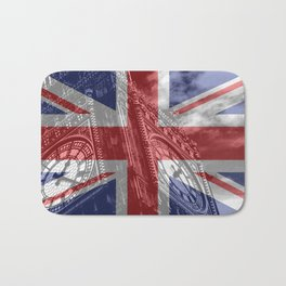 Big Ben - UK Flag Bath Mat