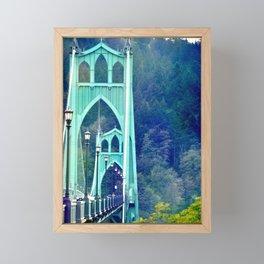 ST. JOHN'S BRIDGE Framed Mini Art Print