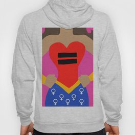 Equality - Latina Women's Rights Hoody