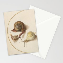 Naturalist Snails Stationery Cards