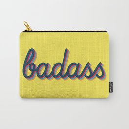 Badass - yellow version Carry-All Pouch