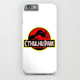 Cthulhu Park iPhone Case