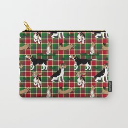 Hunting Tartan Carry-All Pouch