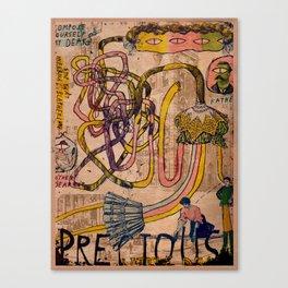 Precious Little Dears Canvas Print