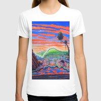 psychadelic T-shirts featuring  Surf Art Psychadelic  by Surf Art Gabriel Picillo