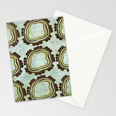 Gold & Green Stationery Cards