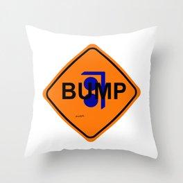 Bump Throw Pillow