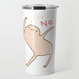 Honest Blob Says No Travel Mug
