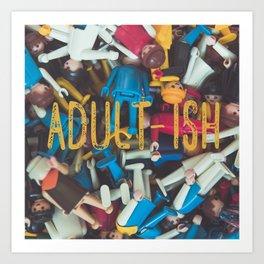 Adult-ish playtime Art Print