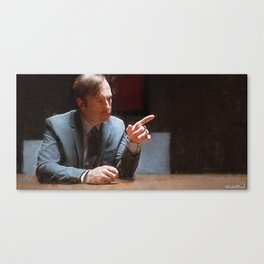 This Injustice Will Not Stand - Better Call Saul Canvas Print