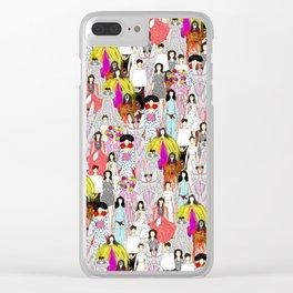 Bjork-A-thon Clear iPhone Case