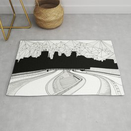 Dreaming the downtown Rug