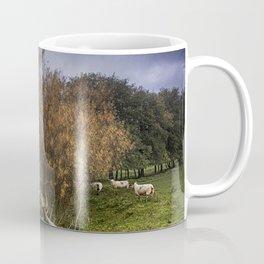 Sheep At Postling Coffee Mug