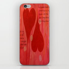 It's all about LOVE iPhone Skin