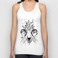 cheetah Tank Tops featuring Cheetah by Danny