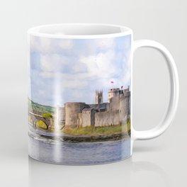 Thomond Bridge and King Johns Castle Coffee Mug