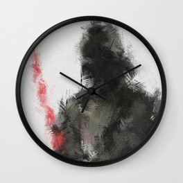 Dark Lord of the Sith Wall Clock