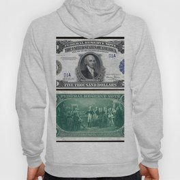 1918 James Madison $5,000 Federal Reserve Bank Note Hoody