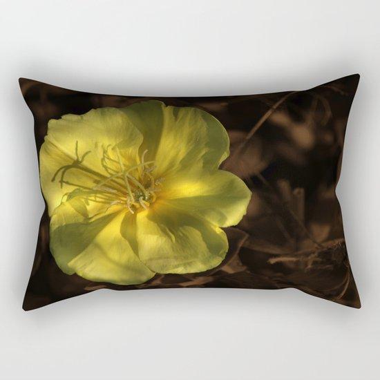 Little Yellow Wonder Rectangular Pillow